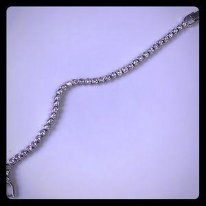SALE ⭐️💎Swarovski Tennis Bracelet/  White Rhodium